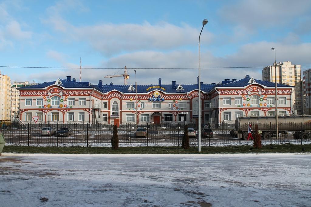 Детский сад УмкаКровля, межэтажные перекрытия, фасады